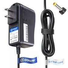 Amazoncom TPower 5v 66ft Long Cable Ac Dc Adapter Compatible