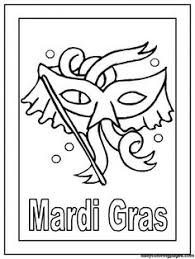 8 Places To Find Free Mardi Gras Coloring Pages