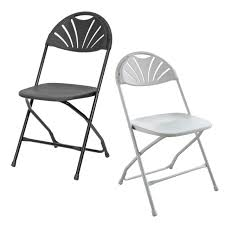 Rhino Fan Back Plastic Folding Chair - 800 Lb. Capacity - Rental ... Black Plastic Folding Chair Box Of 10 Chairs Sf2250ebk Https Extra Wide Alinum Lawn White Resin 131001 Foldingchairs4lesscom 5 Top Heavy Duty My Junior All Star Chairsplastic Tables Cosco 48 In Brown Banquet And Set Kestell Fniture Oak Wood Padded Reviews Wayfair Best Made Company Mallmanns Caravan Steel Blind Rivets For Buy Beach Gear Pinterest Chairs Wooden Makeover A Gathering Place Au Portable Stool Seat Outdoor Fishing