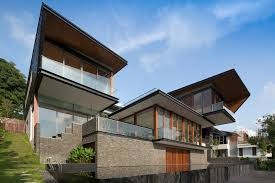 100 Architecture Houses Hillside House AR43 Architects ArchDaily