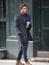 Zac On The Are We Officially Dating Set January 25 2013 Winter Outfits MenWinter