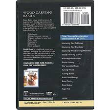 amazon com wood carving basics 2 dvd set carving tools for wood