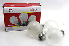 norman ls 100a19 100w 24v frosted light bulb 24 volts 100 watts