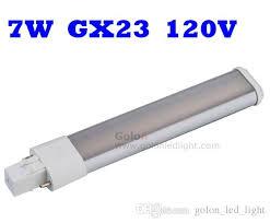 best price 2 pins 7w gx23 led pl light bulb replace 13w pls cfl