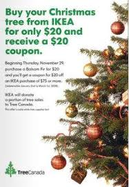 Christmas Tree Types Canada by Ikea Canada U2013 Get A Christmas Tree For 20 And Receive A 20