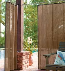 discover the versatility of outdoor bamboo curtain panels