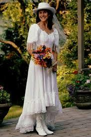 Vintage Western Wedding Dresses