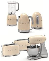 The Smeg First Ever Line Of Small Appliances Is Designed To Match Famous Retro Style Major Kitchen