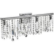 Bathroom Wall Sconces Chrome by Captivating Crystal Bathroom Vanity Light 4 Light Chrome Crystal
