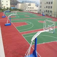 terrain de basket exterieur outdoor basketball court rubber floor tile buy rubber floor