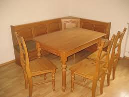 eckbank massivholz mit tisch und 4 stühle eckbank