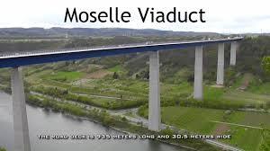 100 Water Bridge Germany GERMANY Moselle Viaduct Bridge Over River Moselle HD