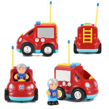 Cartoon R/C Fire Truck Toys For Toddlers - Radio Control Fire Engine ... 40mhz 158 Mini Fire Engine Rc Truck Remote Control Car Toys Kids Dickie Action Series 16 Garbage Walmartcom Rescue Kid Toy Vehicle Lights Water Kidirace Rechargeable Ladder Baby Educational Cartoon For Toddlers Radio Control Fire Engine In Leicester Leicestershire Gumtree Cheap Rc Find Deals On Line At Alibacom 8027 Happy Small Children Brands Products Wwwdickietoysde