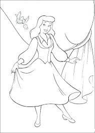 Printable Coloring Pages Disney Princess Color To