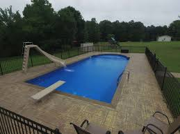 Inground Pools With Diving Board And Slide Pool Photos Belleville