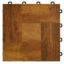 Brilliant Interlocking Vinyl Tile Wonderful Flooring Deluxe