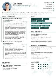 What Your Modern Resume Examples 2018 Free Download