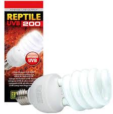 hagen exo terra exo terra reptile uvb 200 ho bulb reptile