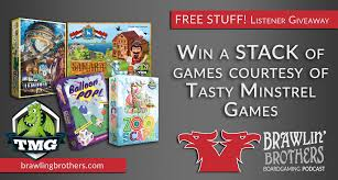 Enter To Win A Stack Of Games From Tasty Minstrel