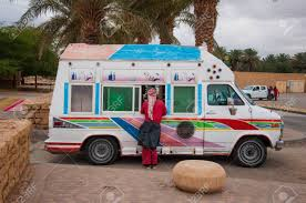 Ice Cream Truck In Riyadh, Saudi Arabia. Stock Photo, Picture And ...