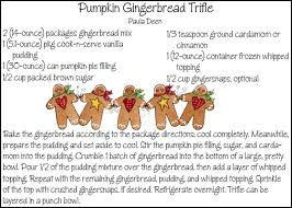 Pumpkin Gingerbread Trifle Gourmet by Looking For Trifle No Mention Of How Long To Make Ahead