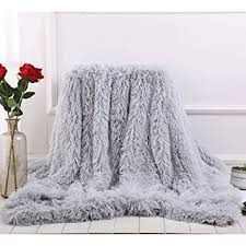 flauschig weich lang plüsch kuscheldecke samt doppelte decke plüschdecke multifunktional hintergrund dekorative drinnen decken tv decke grau