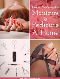 Pedicure Sinks For Home by Easy Steps To A Diy Manicure And Pedicure At Home
