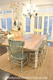 My New Farm Style Table W/mismatched Chairs! | Kitchens | Farm Style ... Timelessly Charming Farmhouse Style Fniture For Your Home Interior Rustic Round Ding Table 6 Ideas 30 House X30 Inch Modern Farm Wood You Kitchen Extraordinary Narrow Room Black Chairs Photos And Pillow Weirdmongercom Hercules Series 8 X 40 Antique Folding Four Bench Set Luxury Affordable Grosvenor Wooden With Gray White Wash Top Classic Base Criss Cross Includes Two Benches E Braun Tables Inc Back Burlap Cushions Amish Sets Etc
