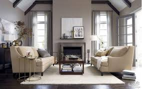 Living Room With Fireplace by Living Room With Fireplace And Cream Sofa Decorate Your Room