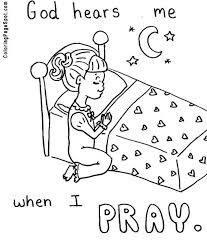 Printable Praying Hands Coloring Pages