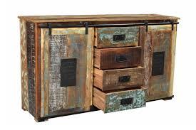 sit möbel sideboard jupiter altholz bunt lackiert möbel