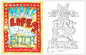 Make Life Your Bitch A Motivational Inspirational Adult Coloring Book