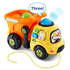 Amazon.com: VTech Drop And Go Dump Truck - Online Exclusive: Toys ... Binkie Tv Garbage Truck Baby Videos For Kids Youtube Toddlers Ride On Push Along Car Childrens Toy New Giant Rc Peterbilt 359 Looks So Sweet And Cute Towing A Wooden Pickup Personalized Handmade Rockabye Dumpee The Play And Rock Rocker Reviews Wayfair Janod Story Firemen Clothing Apparel Great Gizmos Red Walker 12 Months Toys Busy Trucks Lucas Loves Cars Learn Puppys Dump Cheeseburger Miami Food Roaming Hunger