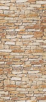 wandmotiv24 türtapete natursteinmauer hell tt216 90x200cm