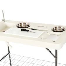 Fish Cleaning Station With Sink by Onebigoutlet Fishing Table Outdoor Cutting Fillet Hunting W 2