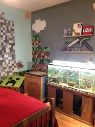 Minecraft Bedroom Theme Room A Bedroom Decor Minecraft Decorations
