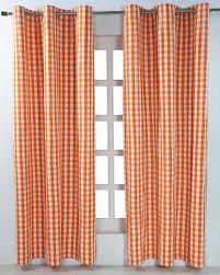 rideaux prets a poser rideaux prets a poser 11 paire de rideaux à œillets carreaux