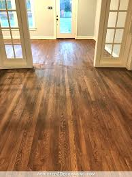 Red Oak Floor Stains Dark