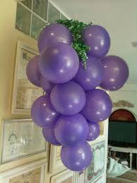 Wine Themed Kitchen Set by Grape Balloons I Made For Wine Theme B U0027day Party Holidays