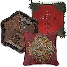 Decorative Throw Pillows In Rustic Lodge Themes