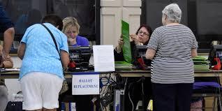 ouverture des bureaux de vote américaines ouverture des bureaux de vote pour le scrutin