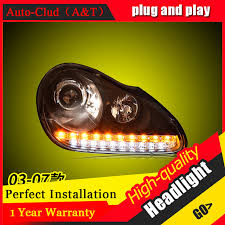 auto clud car styling for porsche cayenne headlights for cayenne