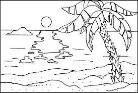 Full Size Of Coloring Pagecoloring Page Beach Drawing 28 Pages 8