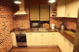 kitchen room wonderful brick wall kitchen world can change