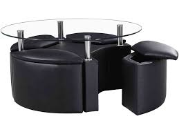 Coffee Table With Chairs Underneath by Coffee Table Wonderful Round Glass Coffee Table Glass And Metal