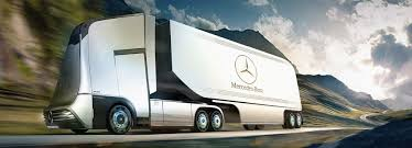 100 Mercedes Semi Truck Semi Autonomous Truck Could Travel On An International Highway