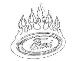 Coloring Pages Of Ford Trucks# 2102928