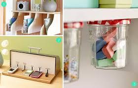Roundup 15 DIY fice Storage and Organization Ideas