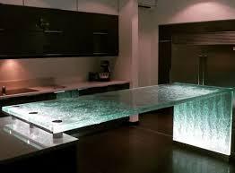 theke für küchen original thinkglass glas gerade