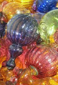 Glass Hand Blown Pumpkins by 108 Best Blown Glass Ornaments Images On Pinterest Glass
